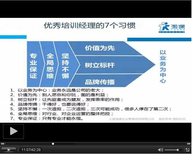 【TM分享】国药大学培训经验谈